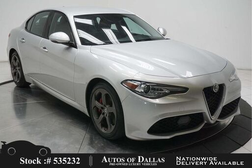 2017_Alfa Romeo_Giulia_CAM,HTD STS,PARK ASST,18IN WLS,HID LIGHTS_ Plano TX