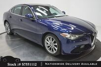Alfa Romeo Giulia NAV,CAM,SUNROOF,PARK ASST,18IN WLS,HID LIGHTS 2017