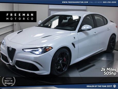 2017_Alfa Romeo_Giulia Quadrifoglio_Heated Seats Remote Start Back-Up Cam_ Portland OR