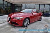 2017 Alfa Romeo Giulia Ti / AWD / Auto Start / Heated Leather Seats / Harman kardon Speakers / Navigation / Dual Sunroof / Blind Spot Alert / Bluetooth / Back Up Camera / 31 MPG / 1-Onwer