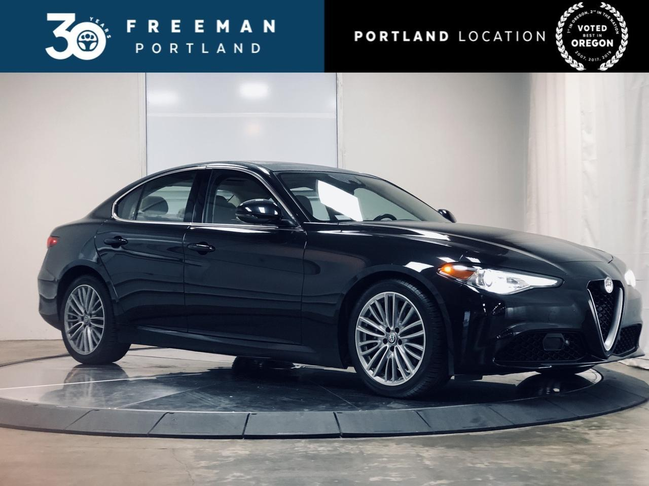 2017 Alfa Romeo Giulia Ti Harman Kardon Blind Spot Assist Portland OR