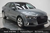 Audi A3 2.0T Premium CAM,PANO,17IN WLS,HID LIGHTS 2017