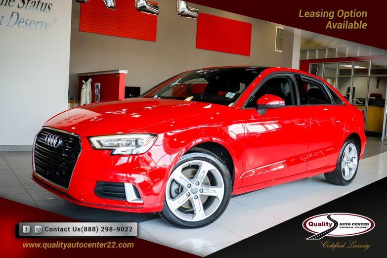 2017 Audi A3 Sedan Premium Convenience Pkg Springfield NJ