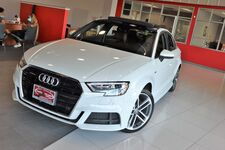 2017 Audi A3 Sedan Premium Plus Package Technology Package Sunroof Navigation