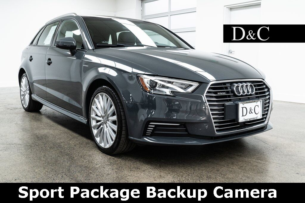 2017 Audi A3 e-tron 1.4T Premium Sport Package Backup Camera Portland OR