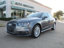 2017_Audi_A3 e-tron_Premium Plus, BACKUP CAM, BLUETOOTH, PANO ROOF, PUSH BUTTON START, HTD SEATS_ Plano TX