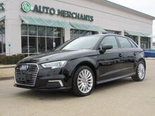 2017_Audi_A3 e-tron_Premium, Turbocharged,Back-Up Camera, Bluetooth Connection,Keyless Start,Front Wheel Drive_ Plano TX