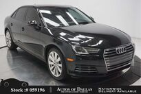 Audi A4 2.0T CAM,SUNROOF,HTD STS,KEY-GO,18IN WHLS 2017