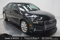 Audi A4 2.0T NAV,CAM,SUNROOF,HTD STS,18IN WLS,HID LIGHTS 2017