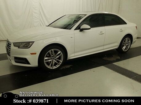 2017_Audi_A4_2.0T NAV,CAM,SUNROOF,HTD STS,18IN WLS,HID LIGHTS_ Plano TX