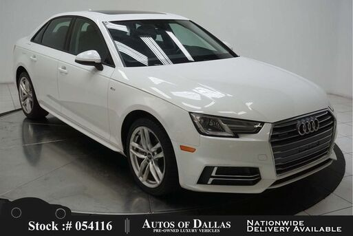2017_Audi_A4_2.0T NAV,CAM,SUNROOF,HTD STS,HID LIGHTS_ Plano TX