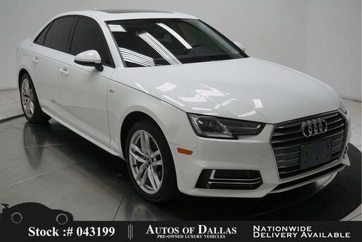 2017_Audi_A4_2.0T NAV,CAM,SUNROOF,HTD STS,KEY-GO,18IN WLS_ Plano TX