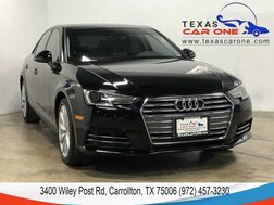 2017_Audi_A4_2.0T PREMIUM CONVENIENCE PKG SUNROOF LEATHER HEATED SEATS REAR C_ Carrollton TX