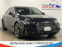 2017_Audi_A4_2.0T PREMIUM PLUS QUATTRO S LINE BANG AND OLUFSEN SOUND REAR CAM_ Carrollton TX