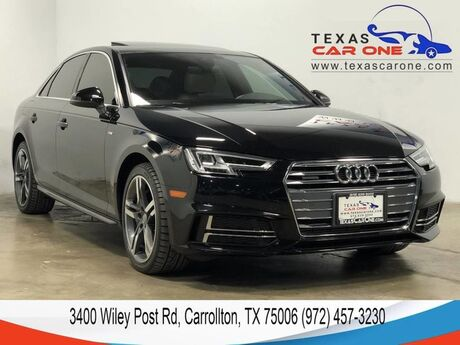 2017 Audi A4 2.0T PREMIUM PLUS QUATTRO S LINE BANG AND OLUFSEN SOUND REAR CAM Carrollton TX