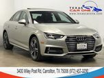 2017 Audi A4 2.0T PREMIUM PLUS QUATTRO S LINE BANG AND OLUFSEN SOUND REAR CAM