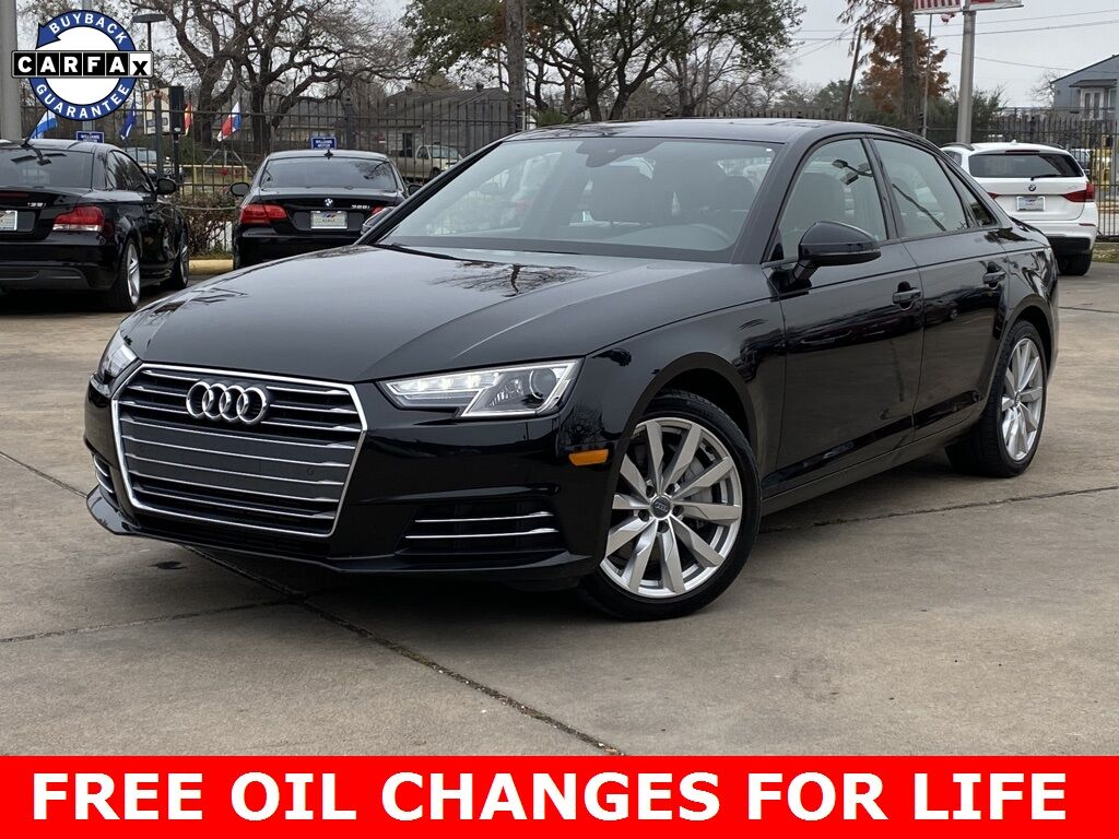 2017_Audi_A4_2.0T Premium_ Houston TX