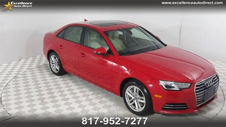 2017 Audi A4 2.0T Premium PADDLE SHIFTER,SUNROOF,BCK-CAM,BLUETOOTH/USB... Euless TX