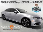 2017 Audi A4 2.0T Premium Plus *BACKUP-CAMERA, BANG & OLUFSEN AUDIO, LEATHER, MOONROOF, HEATED SEATS, ADVANCED KEY, BLUETOOTH, APPLE CARPLAY