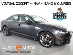2017_Audi_A4 2.0T Premium Plus_*VIRTUAL COCKPIT, NAVIGATION, SIDE ASSIST, BACKUP-CAMERA, MOONROOF, HEATED SEATS, ADVANCED KEY, LED HEADLIGHTS, BLUETOOTH, BANG & OLUFSEN_ Round Rock TX