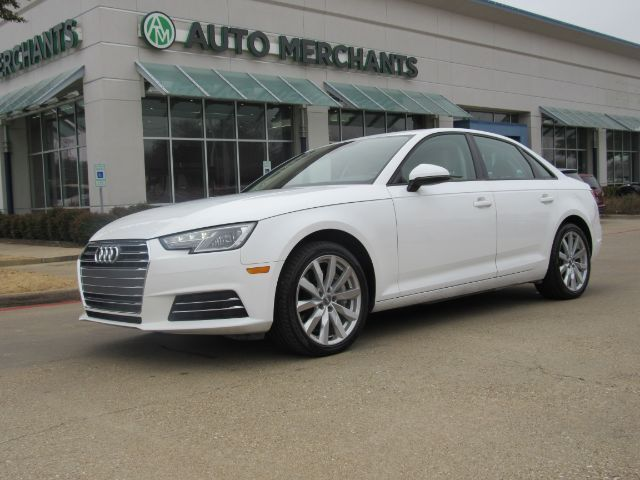 2017 Audi A4 2.0T Premium Sedan 2.0L 4CYL TURBOCHARGED, AUTOMATIC, LEATHER SEATS, HEATED SEATS,  BACKUP CAMERA Plano TX