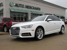 2017_Audi_A4_2.0T Premium quattro Sedan Convenience Package, Sun/Moonroof, Leather, Back-Up Camera, Bluetooth_ Plano TX