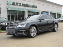 2017_Audi_A4_2.0T Prestige quattro Sedan LEATHER, BLIND SPOT MONITOR, NAVIGATION, HTD SEATS, PUSH BUTTON START_ Plano TX