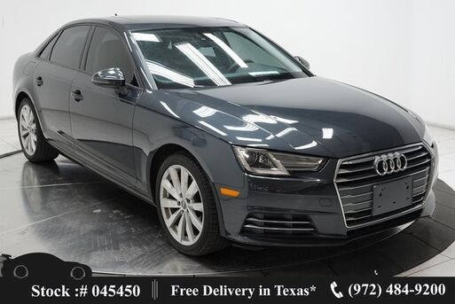 2017_Audi_A4_2.0T ultra Premium CAM,SUNROOF,HTD STS,18IN WLS_ Plano TX