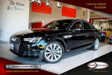2017 Audi A4 Premium Brown Interior, Convenience Pkg, B-Up Camera, Sunroof, 18'' Wheels