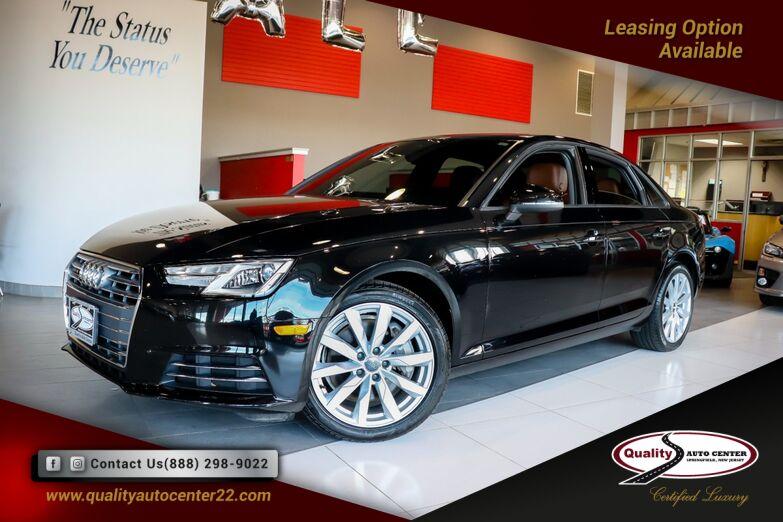2017 Audi A4 Premium Brown Interior, Convenience Pkg, B-Up Camera, Sunroof, 18'' Wheels Springfield NJ
