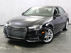 2017_Audi_A4_Premium / Convenience Package / Power Seats / Heated Seats and Mirrors / Push Start / Xenon Headlights / Navigation / Backup Camera / Sunroof_ Addison IL