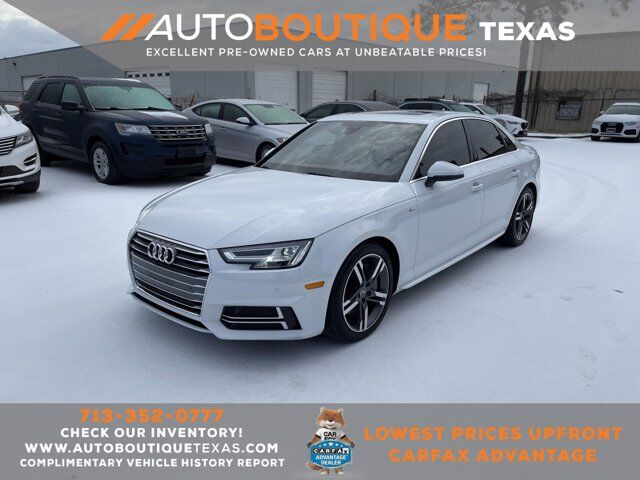 2017 Audi A4 Premium Plus Houston TX