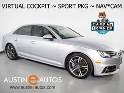 2017_Audi_A4 Quattro 2.0T Premium Plus_*VIRTUAL COCKPIT, SPORT PKG, NAVIGATION, SIDE ASSIST, BACKUP-CAMERA, MOONROOF, HEATED SEATS, ADVANCED KEY, BLUETOOTH, BANG & OLUFSEN_ Round Rock TX