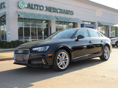 2017 Audi A4 ULTRA PREMIUM 2.0L 4 CYLINDER, AUTOMATIC, LEATHER SEATS, NAVIGATION SYSTEM, HEATED FRONT SEATS Plano TX