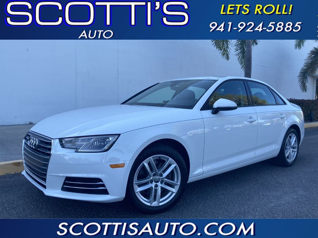 2017 Audi A4 ultra Premium~ONLY 41K MILES~ 1-OWNER~ CLEAN CARFAX~ BEST COLOR COMBO~ LEATHER~ SUNROOF~ CAMERA~ LOADED! ~ONLINE FINANCE AND SHIPPING AVAILABLE! Sarasota FL