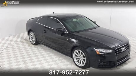 2017 Audi A5 2.0T Sport PADDLE SHIFTER,SUNROOF,BLUETOOTH, HEATED LEATHER S Euless TX