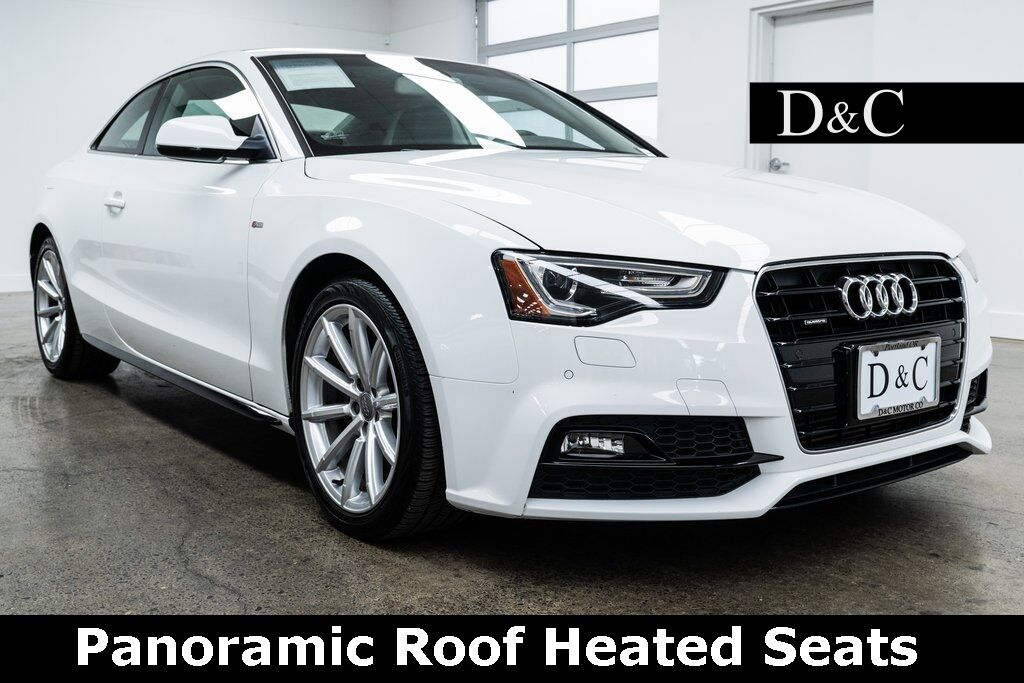 2017 Audi A5 2.0T Sport quattro Panoramic Roof Heated Seats Portland OR