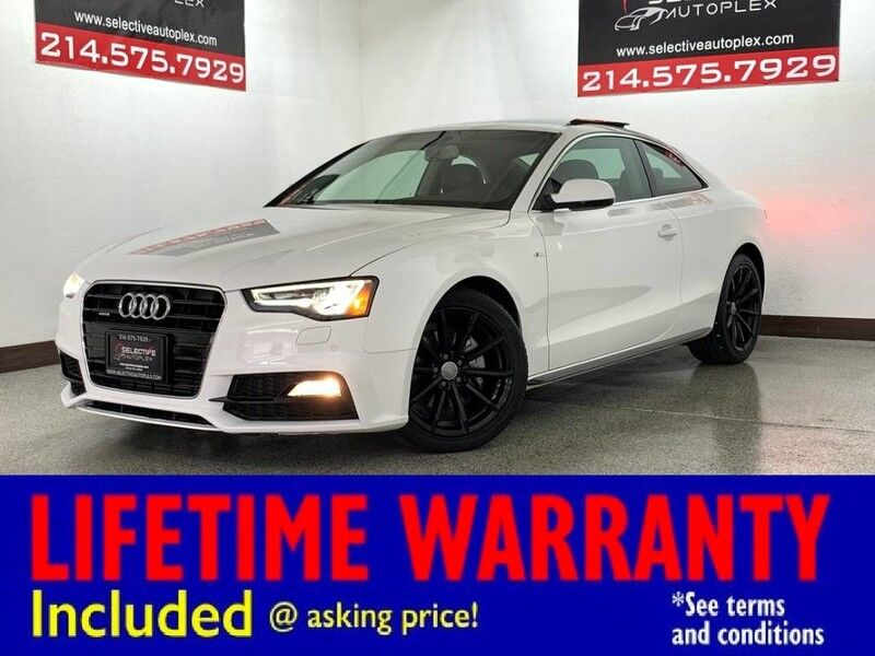 2017 Audi A5 Coupe Sport AWD, LEATHER SEATS, MOONROOF, REAR PARKING AID Carrollton TX