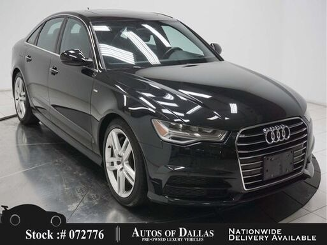 2017_Audi_A6_2.0T Premium NAV,CAM,SUNROOF,PARK ASST,HID LIGHTS_ Plano TX