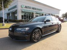 2017_Audi_A6_3.0T Premium Plus quattro *BLACK OPTIC PKG* LEATHER, SUNROOF, NAVIGATION, UNDER FACTORY WARRANTY_ Plano TX