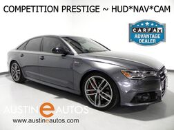 2017_Audi_A6 3.0T Quattro Competition Prestige_*HEADS-UP DISPLAY, NAVIGATION, BLIND SPOT ALERT, ADAPTIVE CRUISE, AUDI PRE SENSE, MOONROOF, LEATHER, BOSE AUDIO, BLUETOOTH_ Round Rock TX