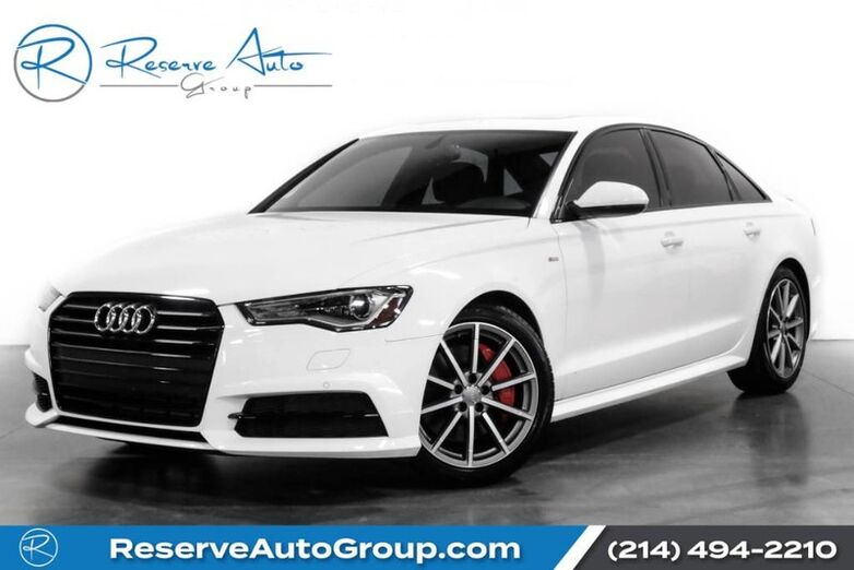 2017 Audi A6 Premium Plus Black Optic Pkg Sport Pkg The Colony TX