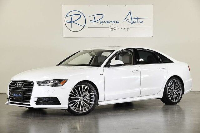 2017 Audi A6 Premium Plus S-Line Sport Pkg 20 Whl Pkg LED Light Pkg Cold Wthr Pkg The Colony TX