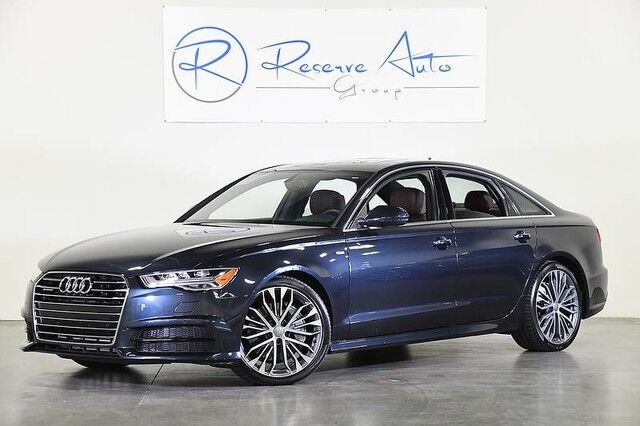 2017 Audi A6 Premium Plus Sport Pkg 2- Wheel Pkg LED Headlights The Colony TX