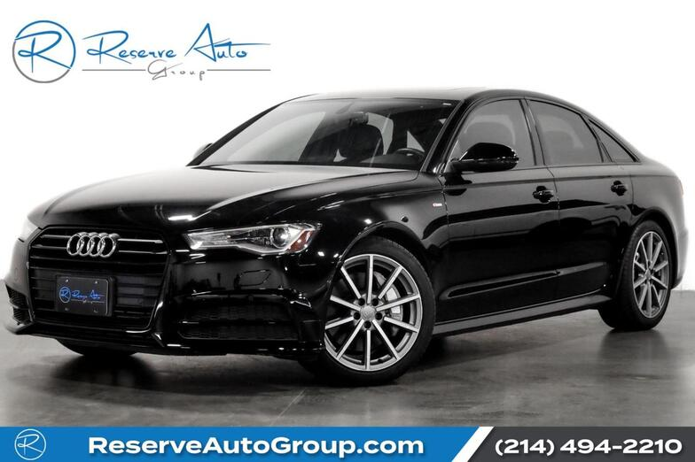 2017 Audi A6 Premium Plus Sport Pkg BlackOptic Pkg 19 Alloys The Colony TX