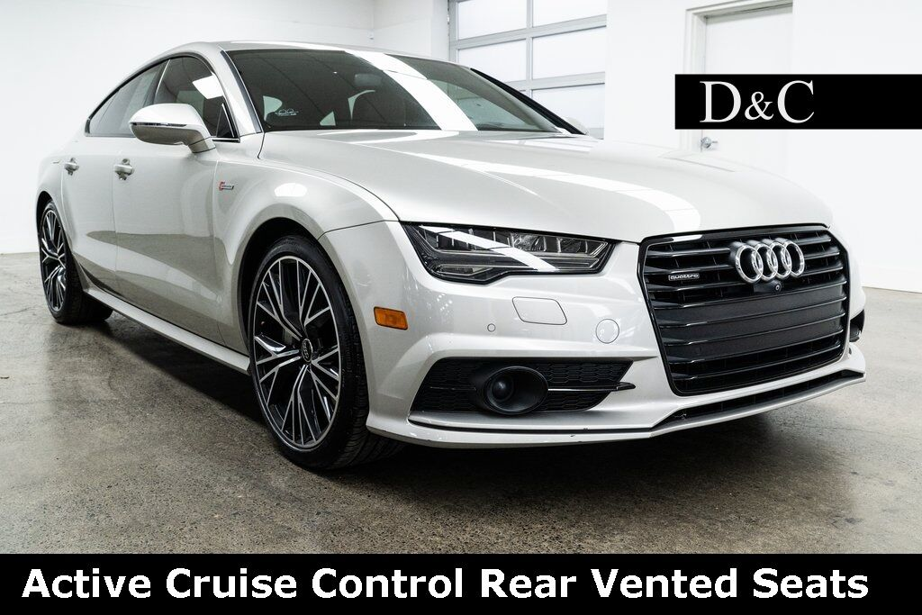 2017 Audi A7 quattro Adaptive Cruise Heads Up Display Portland OR