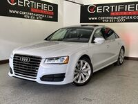 Audi A8 L QUATTRO SUPERCHARGED BLIND SPOT ASSIST NAVIGATION PANORAMIC ROOF HEADS UP D 2017