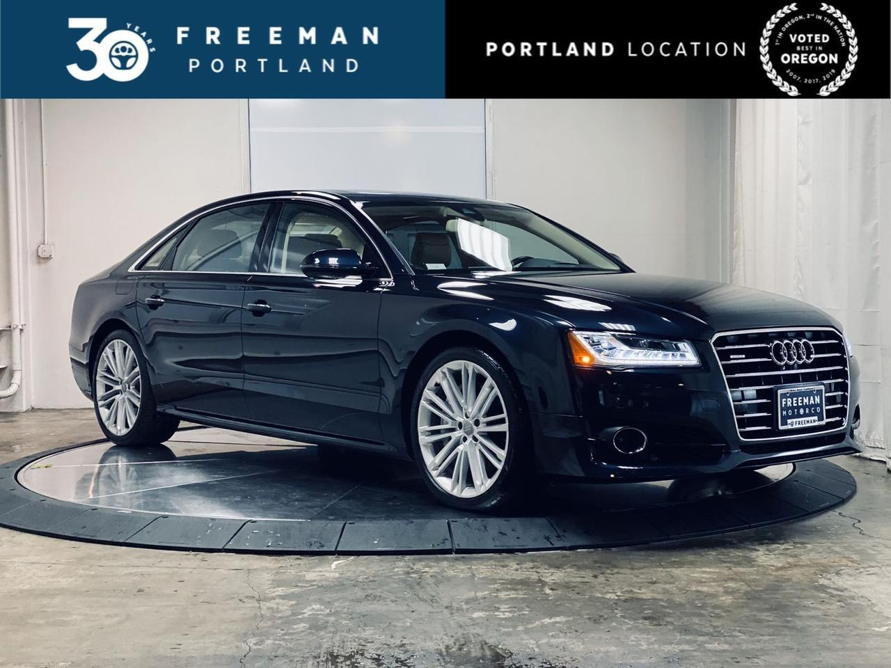 2017 Audi A8 L Sport Active Lane Assist Heated & Cooled Front Seats Massage Seats Portland OR