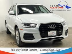 2017_Audi_Q3_2.0T PREMIUM PANORAMA LEATHER HEATED SEATS REAR CAMERA KEYLESS START BLUETOOTH_ Carrollton TX