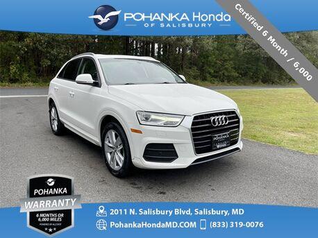 2017_Audi_Q3_2.0T Premium FrontTrak ** Certified 6 Month / 6,000 **_ Salisbury MD